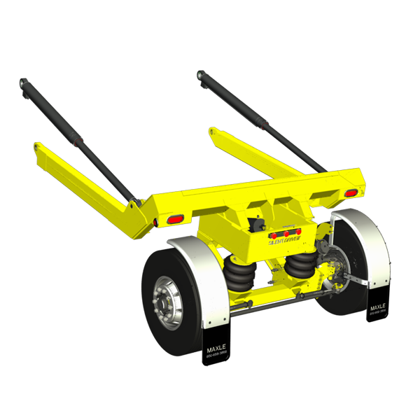 Auxiliary Lift Axle Suspension   Tag, Pusher, & Trailer   Steerable